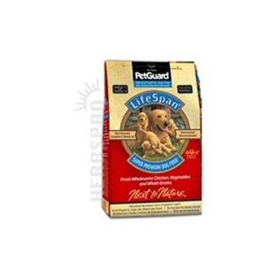 Petguard Lifespan Dry Dog Food Chicken Chicken 38 Lb