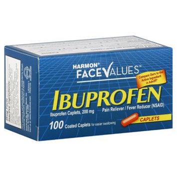 Harmon Face Values 100-Count 200 mg Ibuprofen Caplets