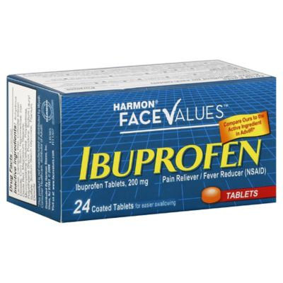 Harmon Face Values 24-Count 200 mg Ibuprofen Tablets
