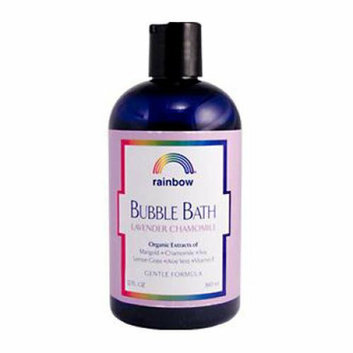 Rainbow Research Gentle Bubble Bath Formula Lavender and Chamomile 12 oz
