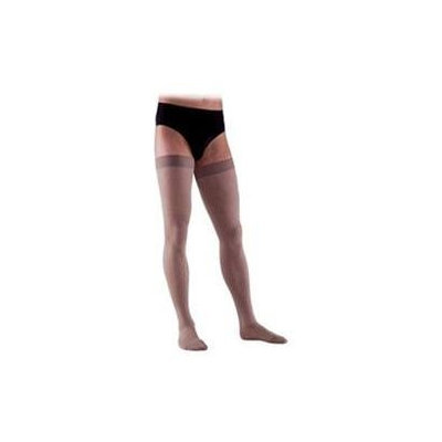 Sigvaris 863NL2M99 860 Select Comfort Series 3040 mmHg Mens Closed Toe Thigh Highs 863N Size L2#44; Color Black 99
