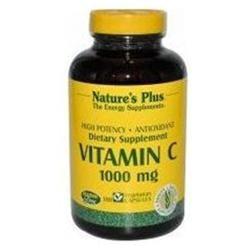 Nature's Plus Vitamin C 1000 MG - 180 Capsules - Vitamin C