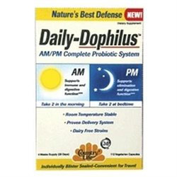 Country Life Daily-Dophilus AM/PM Complete Probiotic System