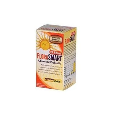Renew Life FloraSmart Advanced Probiotic - 24 billion - 30 Vegetable Caplets