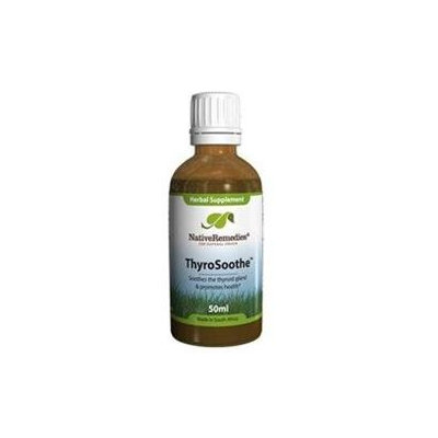 Native Remedies THY002 ThyroSoothe for Overactive Thyroids and Hyperthyroidism - 50ml
