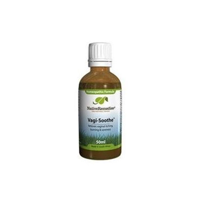 Native Remedies VGS001 Vagi-Soothe for Vaginal Itching Burning and Soreness - 50ml