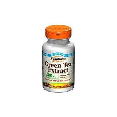 Sundown Naturals Green Tea Extract, 300mg, Capsules, 75 ea