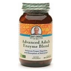 Flora Udo's Choice Advanced Adult Enzyme Blend, 60 vegetarian capsules