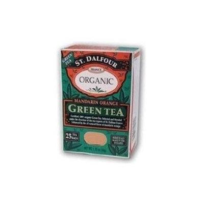 St. Dalfour Organic Green Tea Mandarin Orange - 25 Tea Bags