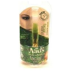Ds Nad's Natural Hair Removal Gel, Facial Wand, .2-ounces