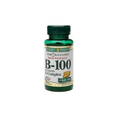 Nature's Bounty High Potency B-100 Balanced B-Complex