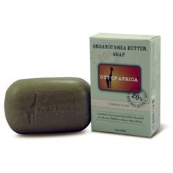 Out of Africa Shea Butter Bar Soap - Detoxifying Green Clay