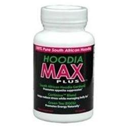 Hoodia Diet Hoodia Max Plus Appetite Suppressant Capsules, Dietary Supplement - 60 Ea