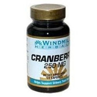 Cranberry Extract 250 mg, 60 Capsules, Windmill Health Products