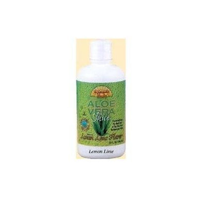 Dynamic Health Laboratories Organic Aloe Vera Juice, Lemon Lime, 32 oz, Dynamic Health