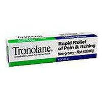 Tronolane Anesthetic Hemorrhoid Cream - 1 Oz