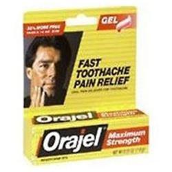 Orajel Maximum Strength Toothache Painrelief Gel - 0.18 Oz