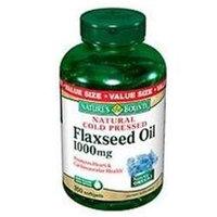Nature's Bounty Organic Flaxseed Oil, 1000 mg, 200 softgels