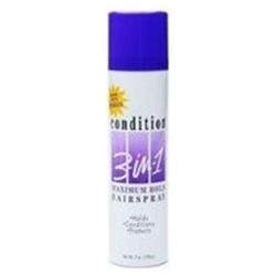 Condition 3 In 1 Hair Spray With Sunscreen, Maximum Hold - 7 Oz
