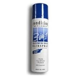 Condition 3 In 1 Hair Spray Maximum Hold, Unscented - 7 Oz
