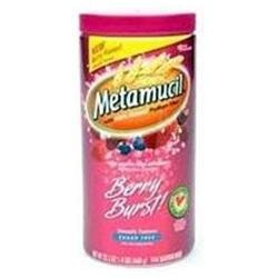 Metamucil - MultiHealth Psyllium Fiber Powder Berry Smooth - 15 oz.