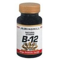 Vitamin B-12 100 mcg, 100 Tablets, Windmill Health Products