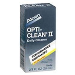 Opti Clean Alcon Opti- Clean Ii Contact Lens Cleanser Sensitive Eyes - 20ml