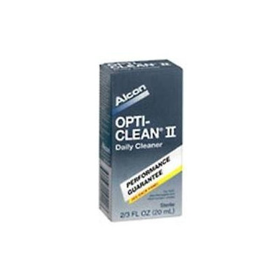 Opti Clean Alcon Opti- Clean Ii Contact Lens Cleanser Sensitive Eyes - 20ml