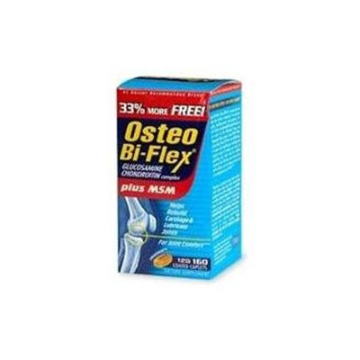 Osteo Bi-Flex Glucosamine Chondroitin plus MSM, Coated Caplets, by Sundown - 120