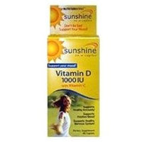 NutritionWorks - Sunshine Vitamin D with Vitamin C 1000 IU - 60 Caplets