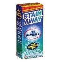 Stain Away Denture Cleanser For Partials And Smokers - 8.4 Oz