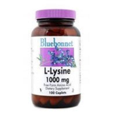 L-Lysine 1000mg Bluebonnet 50 Caplet