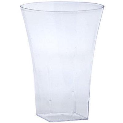King Zak Ind Lillian Tablesettings 12445 Clear 14 Oz Plastic Flared Tumbler - 240 Per Case