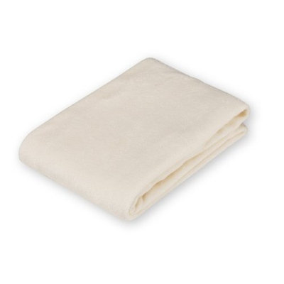 American Baby Company Cotton Terry Contoured Changing Table Cover, Ecru