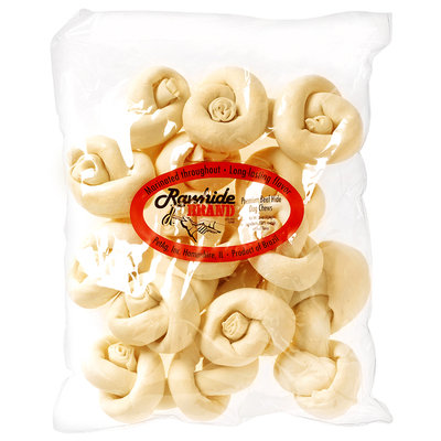 Petag PetAg Rawhide Brand Natural Safety-Knot Bones