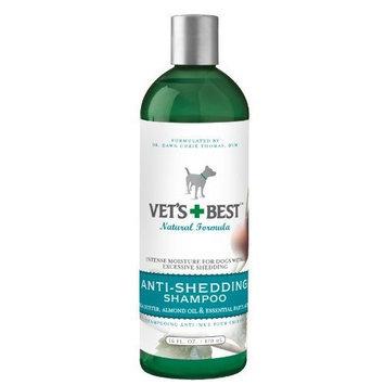 Veterinarians Best Vet's Best Anti-Shedding Dog Shampoo, 16 Ounces