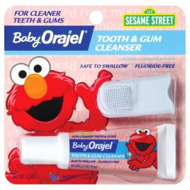 Baby Orajel Fluoride-Free Toothpaste - Fruit (.7 oz.)