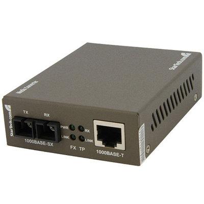Startech.com STARTECH.COM MCMGBSC055 GIGABIT FIBER CONVERTER MM
