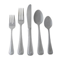 Sourcing Solutions Personalized 46-pc. Flatware Set - C