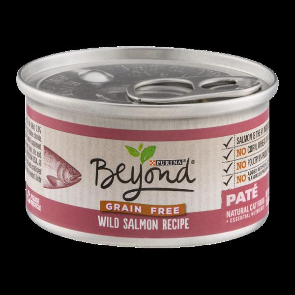 Purina Beyond Natural Cat Food Wild Salmon Recipe Pate