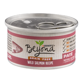Purina Beyond Natural Cat Food Wild Salmon Recipe Pate