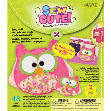 Westrim Crafts Westrim 150347 Sew Cute Craft Box Kit - Makes 2-Owl