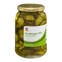 Ahold Pickle Chips Hamburger Dill