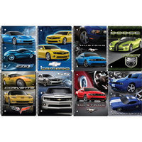 US Muscle Cars Notebook