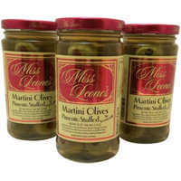 Generic Miss Leone's Pimento Stuffed Martini Olives in Vermouth, 12 oz, 3 count