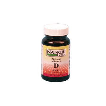 Natrul Health Vitamin D 1000 Iu Softgels - 100 Ea