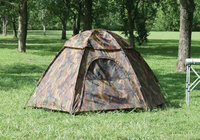 Texsport Tent, Hide-A-Way Hexagon Camouflage Dome Tent