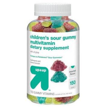 up & up Children's Sour Gummy Multivitamin Dietary Supplements 150-ct.