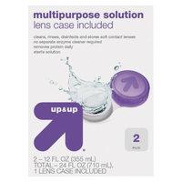 up & up up&up Multipurpose Lens Solution - 2 Count ( 12 fl oz each)