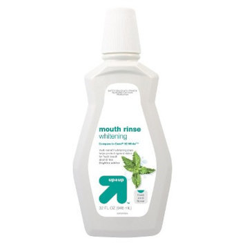 up & up up&up Whitening Fresh Mint Mouth Rinse - 32 oz